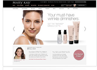A Mary Kay® Personal Web Site allows your customers to shop with you 24/7.