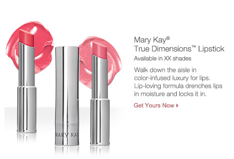 Get Mary Kay® True Dimensions™ Lipstick.